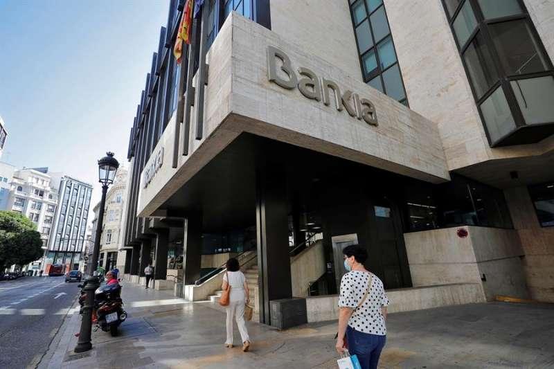 La sede social de Bankia, en València, en una imagen reciente. EFE/Manuel Bruque