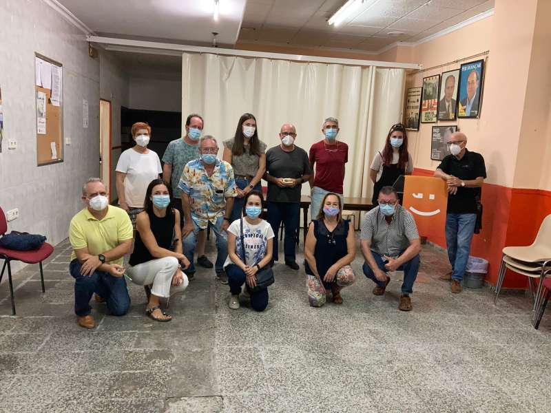 Ejecutiva comarcal de Més Compromís. / EPDA