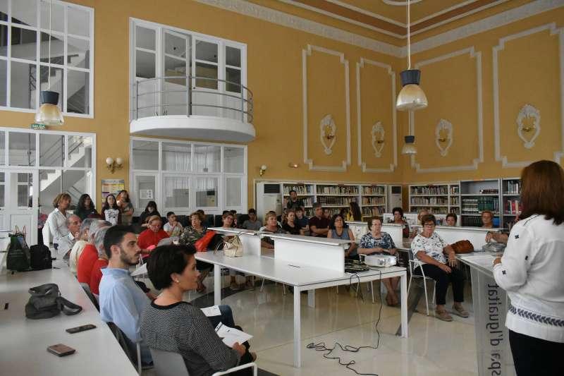 Biblioteca de Alfafar. EPDA
