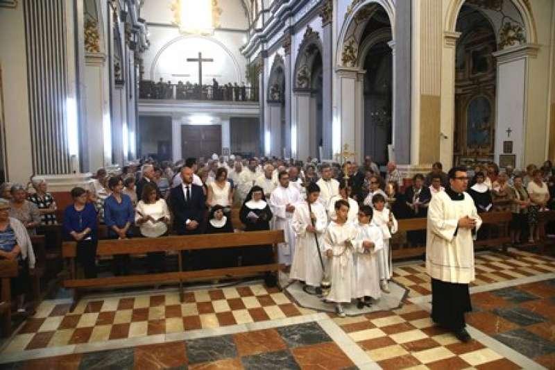 Misa presidida por el Cardenal en Faura. EPDA