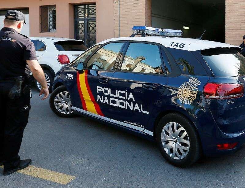 Imagen recurso de un vehículo de la Policía Nacional.