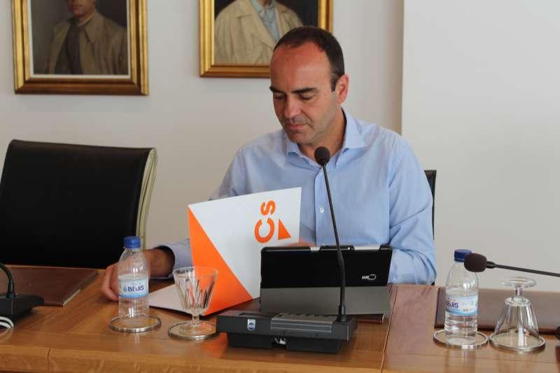Domingo Vicent, portavoz Ciudadanos en el Ayuntamiento de Vila-Real./EPDA