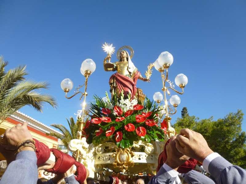 Imagen de archivo de Santa Bárbara. EPDA