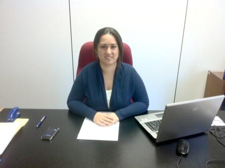 La delegada de Formación y Empleo, Maribel Sáez. FOTO: EPDA