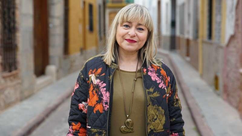Nathalie Torres, del col·lectiu de Puçol. EPDA