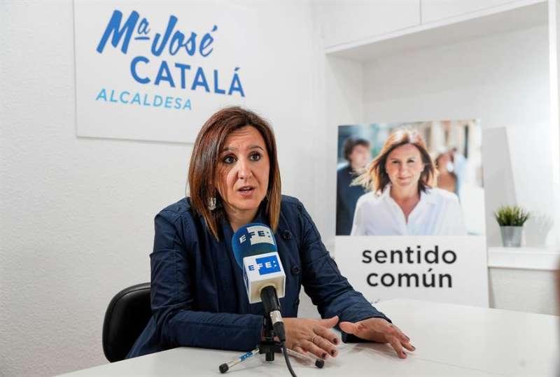 La portavoz del PP en el Ayuntamiento de València, María José Catalá. EFE/Manuel Bruque/Archivo