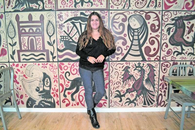 María Giménez en una entrevista para El Periódico de Aquí. MARÍA MARTÍNEZ
