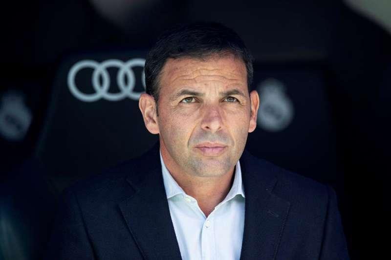 El entrenador del Villarreal, Javier Calleja. - EFE