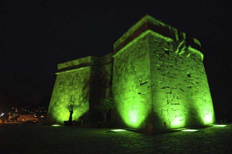 El castillo de Moraira, en Alicante, donde se celebrará la gala de la Vuelta ciclista a España. EFE