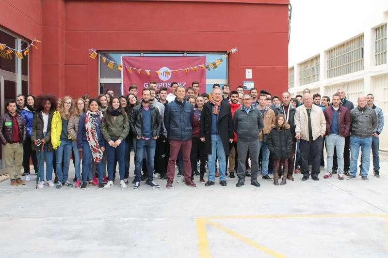 Plantilla y jugadores de Grupo Sanz de Llíria. EPDA