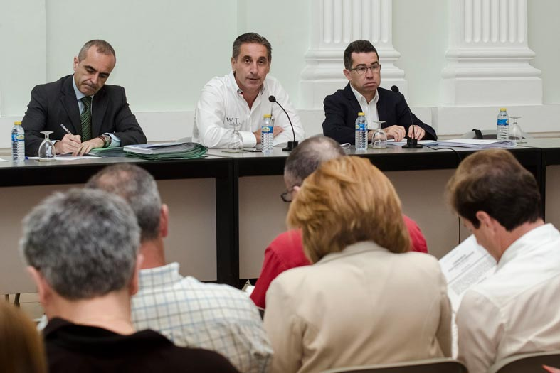 Reunión del COR en junio. FOTO EPDA