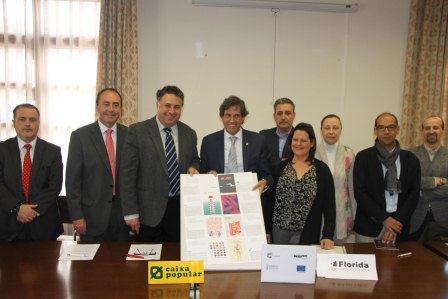 El alcalde de Paterna junto a las entidades firmantes de los tres convenios.