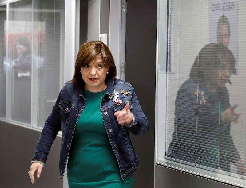 La presidenta del PPCV, Isabel Bonig. EFE/Juan Carlos Cárdenas/Archivo