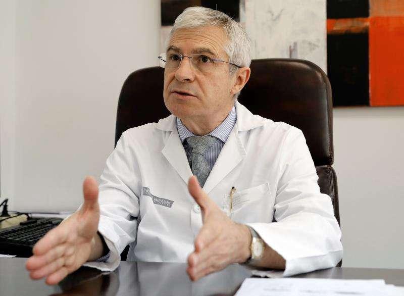 El nuevo presidente electo de la Sociedad Europea de Menopausia y Andropausia, Antonio Cano, primer español en ocupar este cargo. EFE