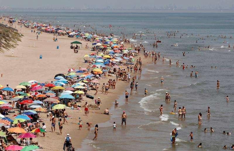 Playa de Cullera. EFE/Archivo