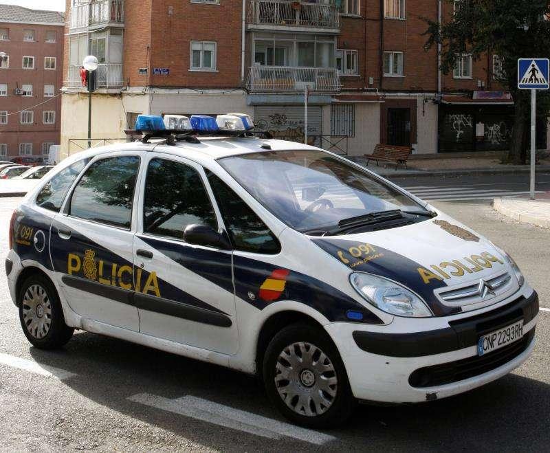 Coche patrulla de la Policía Nacional. EPDA