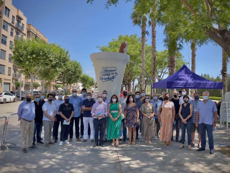 Inauguración de Día de la Horchata en Alboraya