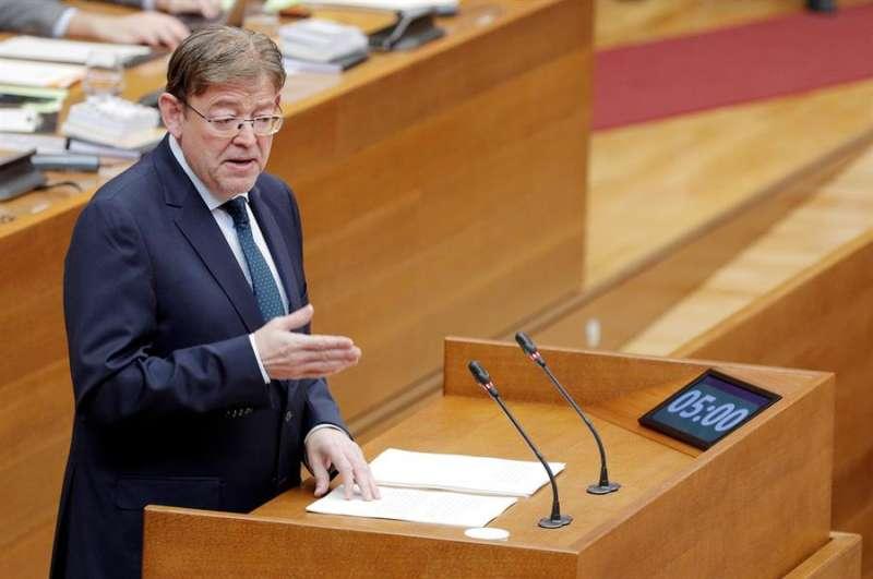 El president de la Generalitat, Ximo Puig. EFE/Kai Försterling