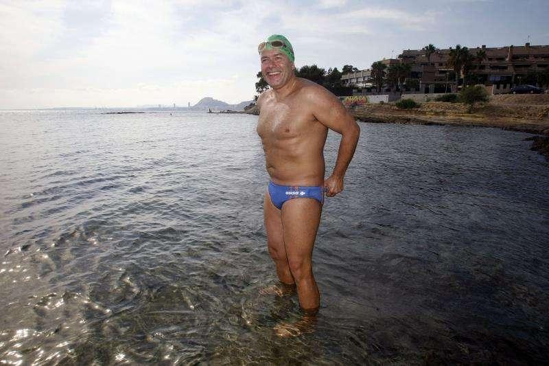 El nadador de aguas abiertas alicantino Jorge Crivillés. EFE/Archivo