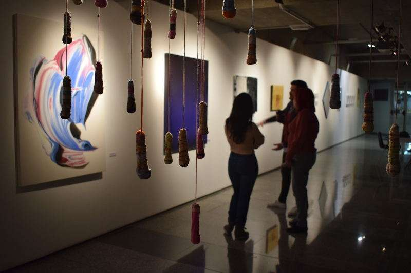 Obras de la 3ª Biennal de València. EPDA