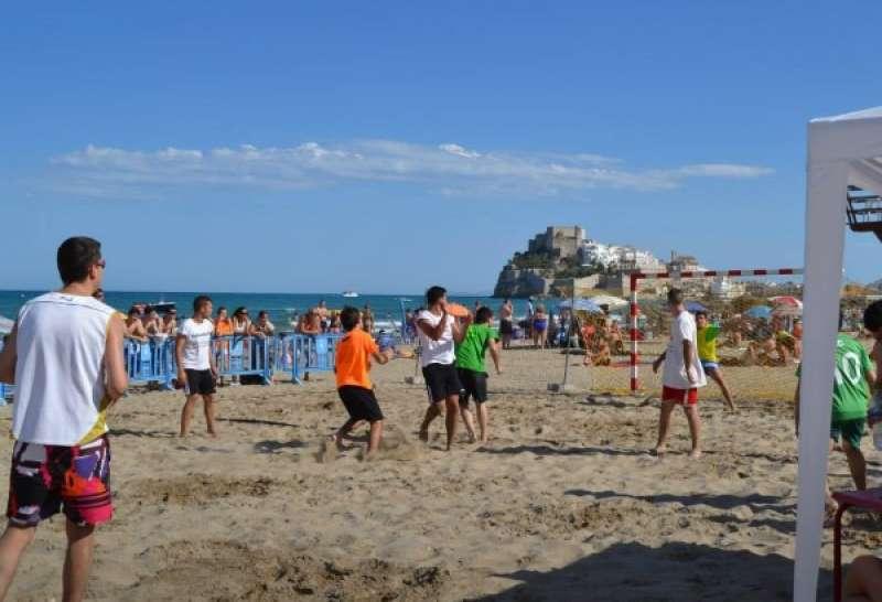 Actividades deportivas en Peñíscola. AYUNTAMIENTO DE PEÑÍSCOLA