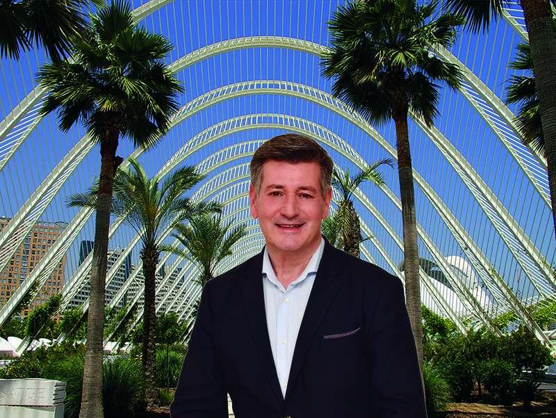 José Enrique Aguar, presidente nacional y candidato de Contigo a la alcaldía de València. / EPDA