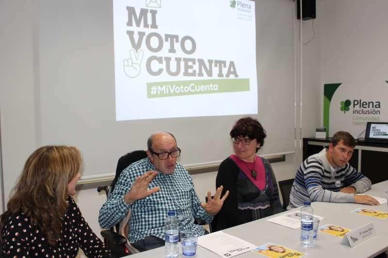 Las personas con discapacidad intelectual demandan elecciones más accesibles