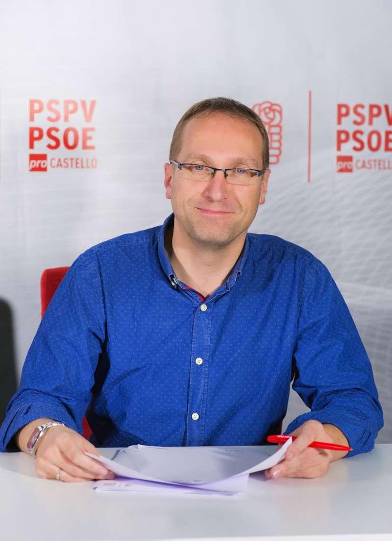El secretari general del PSPV-PSOE de la província de Castelló i diputat autonòmic, Ernest Blanch