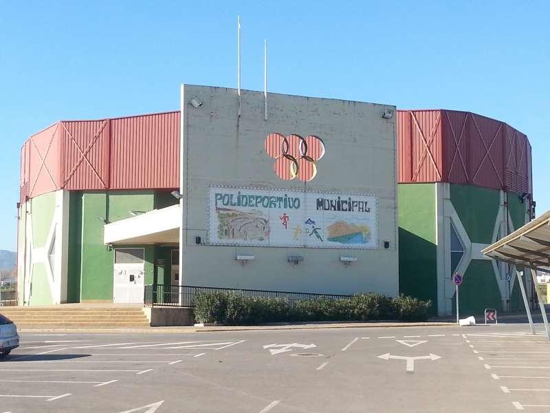 Pabellón del Polideportivo Municipal. EPDA