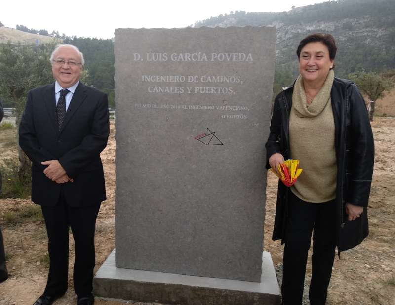 Viuda de Luis García Poveda