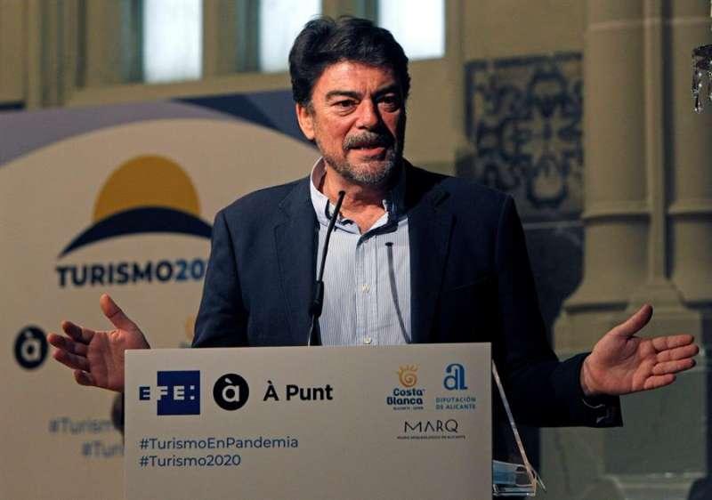 El alcalde de Alicante, Luis Barcala, en una imagen reciente. EFE