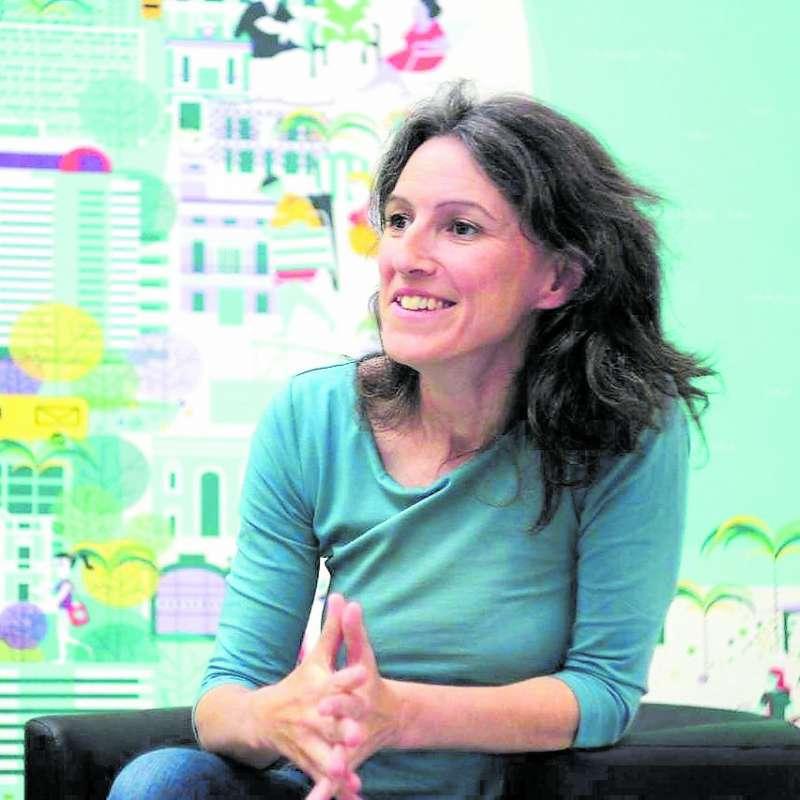 María Oliver de Unides Podem