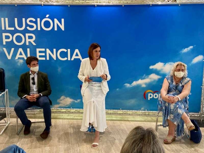 María José Catalá durante el Comité. EPDA.