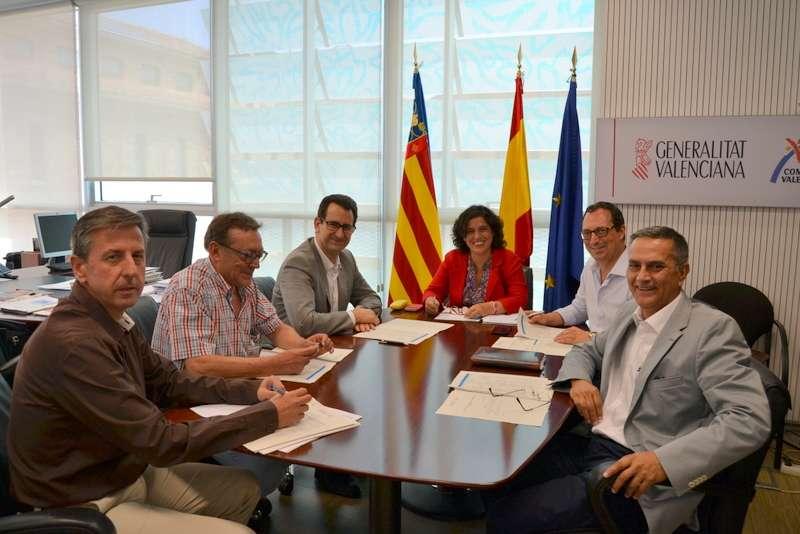 Reunión del jurado de los Premis Turisme Comunitat Valenciana.
