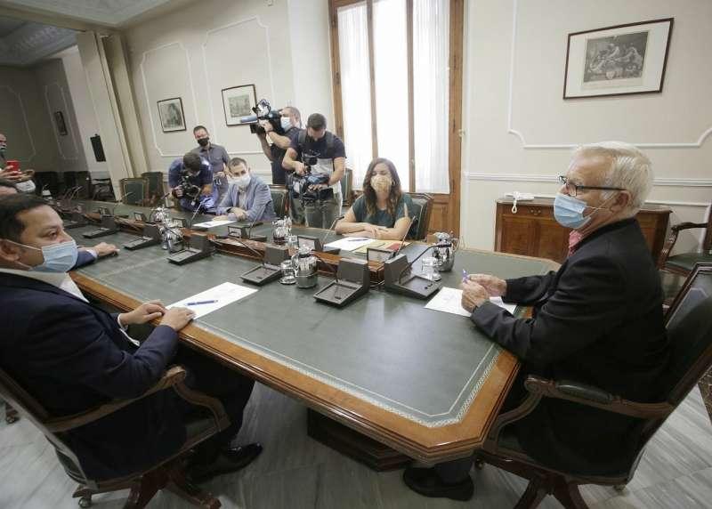 Reunión en el Ayuntamiento de València. EPDA
