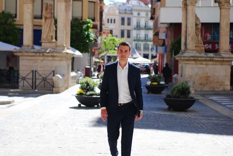 Miguel Vidal, portaveu de Ciutadans Alzira./EPDA