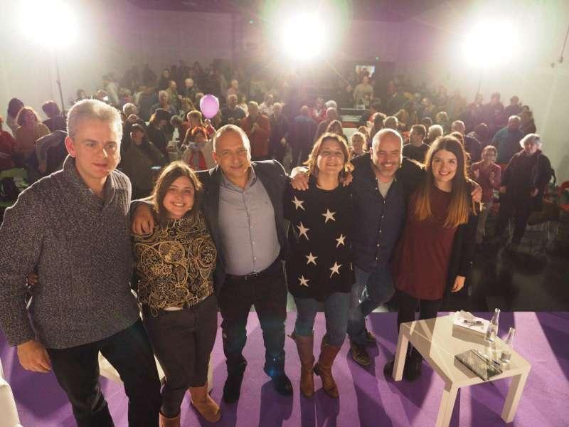 Acto de campaña de Unidas Podemos en Port de Sagunt. EPDA