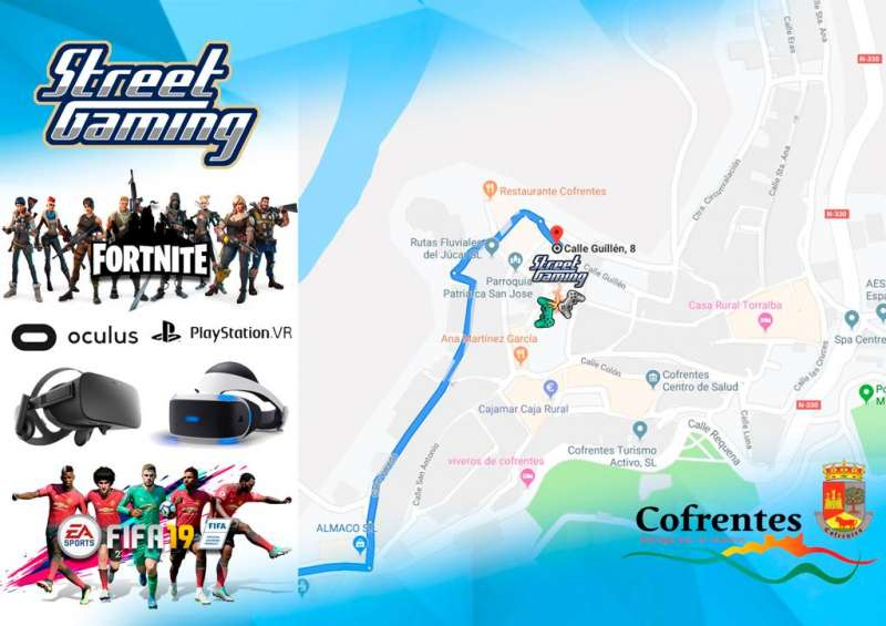Cartell de la I Trobada de Videojocs i Esports Street Gaming. EPDA