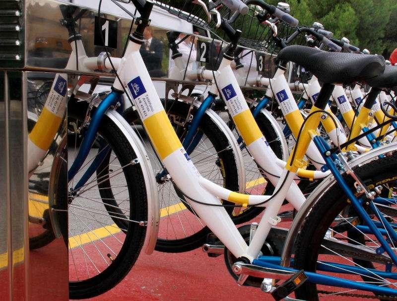 Bicicletas del servicio TorrentBici. EPDA