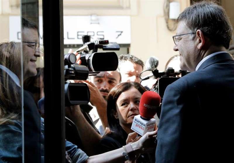 El president de la Generalitat y secretario general del PSPV-PSOE, Ximo Puig. EFE/ Juan Carlos Cárdenas