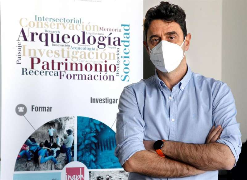Javier Fernández-López de Pablo, de la Universidad de Alicante. EFE/Morell
