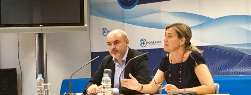 Elena Bastidas, vicesecretaria regional del PP. EPDA