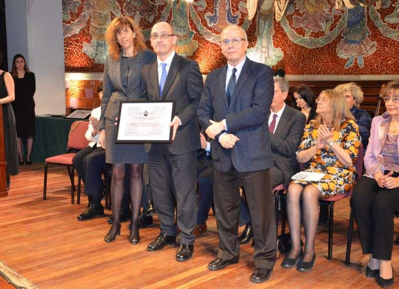 Reconocimiento a los dos hospitales del grupo Ribera Salud en la provincia de Alicante.