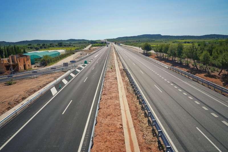 Imagen de archivo de una autovía.