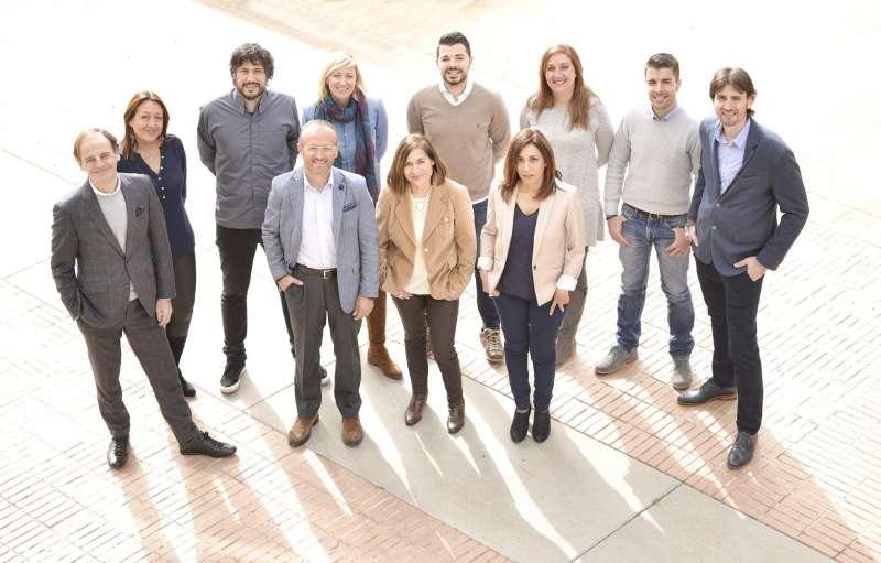 Equipo Milestone de la sede central en Valencia.