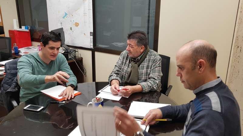 Autoritats reunides per la Pilota Valenciana. -EPDA