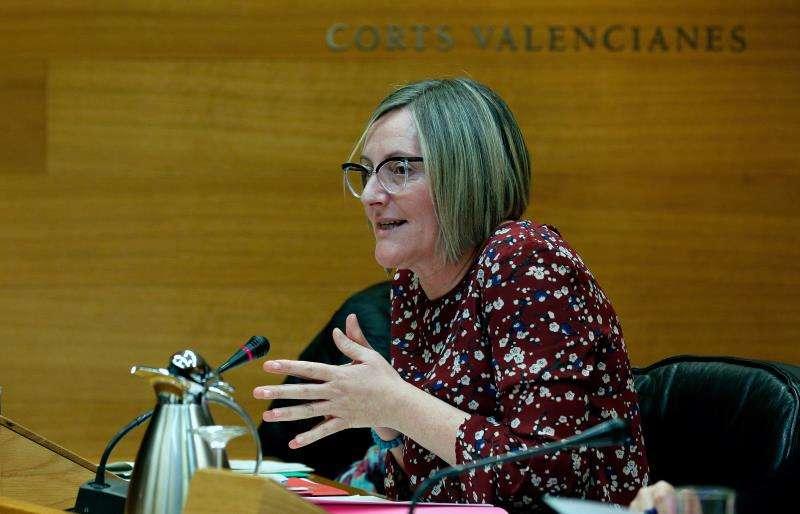 La hasta ahora consellera de Vivienda Obras Públicas, María José Salvador. EFE/Archivo