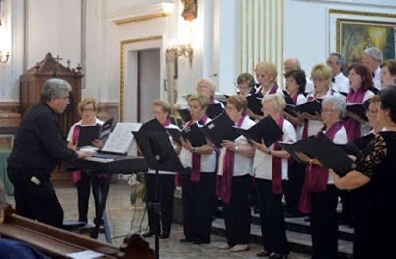 Una actuació del Cor de Canyamelar Cabanyal.