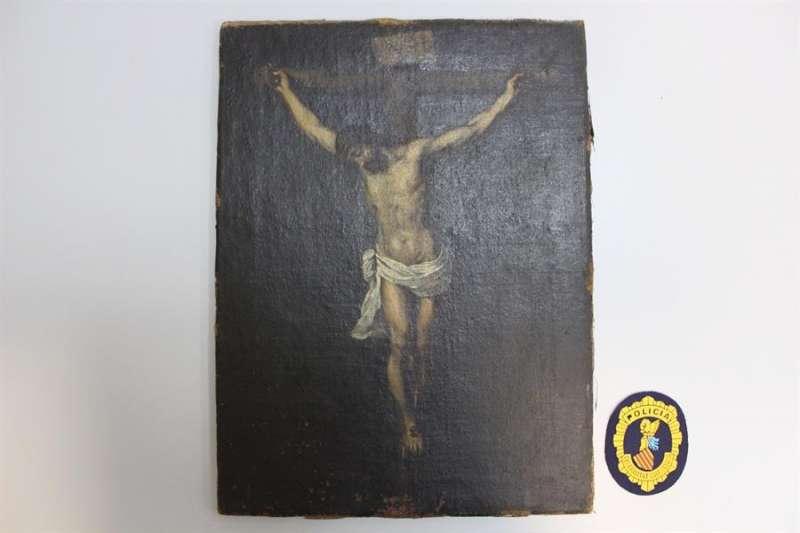 Obra atribuida falsamente al pintor sevillano Bartolomé Esteban Murillo. EFE/Generalitat