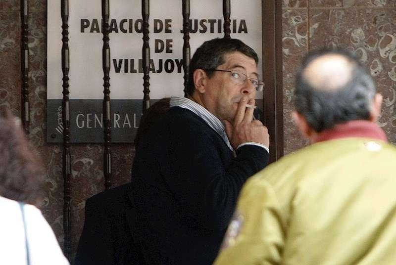 Juan Cano, uno de los sospechosos del asesinato del alcalde Polop Alejandro Ponsoda. EFE/Morell/Archivo
